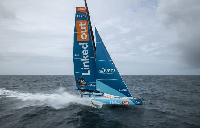 Thomas Rettant and LinkedOut set out to storm the Vendée Globe