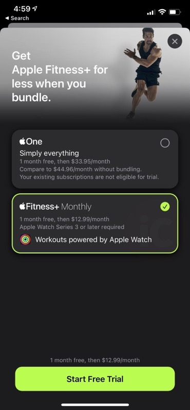 Apple watch fitness + a month 2