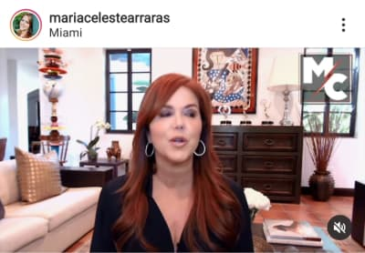 María Celeste announces the lowest blow to Telemundo and María Elena Salinas will help her in her revenge