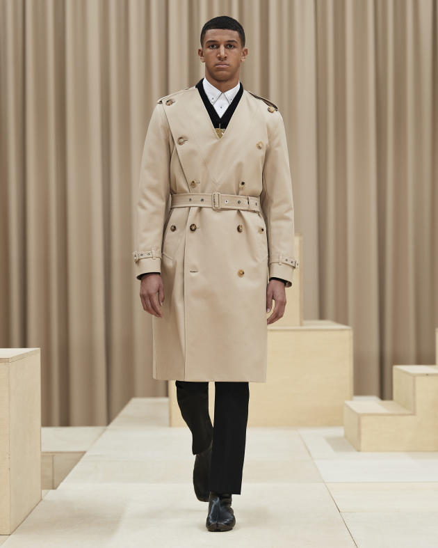 Burberry fall-winter 2021-2022.